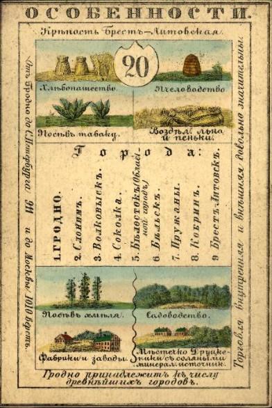 Гродно в открытках - лицевая стороная